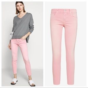 CLOSED $275 BAKER HIGH JEAN IN CAMELIA